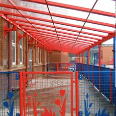 Powder Coated Canopies