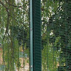 Powder Coated Mesh Fencing