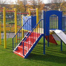Powder Coated Playground Furniture