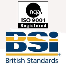 British Standards and ISO Quality Standard Powder Coating